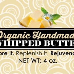 Whipped Butter (Seasonal Item - Nov to Mar)